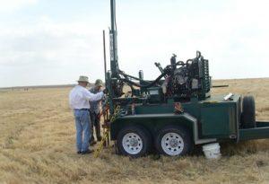Gidding soil coring machine